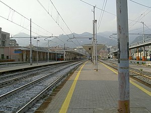 Salerno railway station