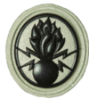 SANDF Qualification Demolitions Level Two badge embossed.png