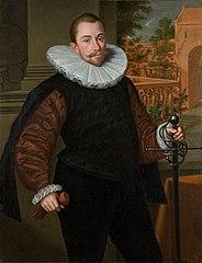 Portrait of Cornelis Jorisz. Roodhoorn (1564-1599)