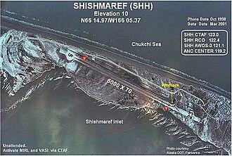 Shishmaref Airport - Image: SHH h