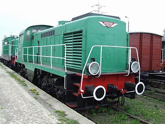 PKP class SM15 - SM15-17 at the Warsaw Railway Museum.