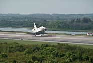 STS 131 Touchdown