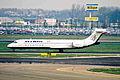 SX-BOB B717-2K9 Olympic Aviation AMS 24APR01 (6988535233).jpg
