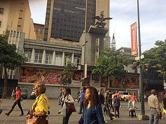 Boulevard of Sabana Grande - Image: Sabana Grande Edificio Radio City, Sabana Grande Caracas Shopping Sabana Grande Caracas Arquitectura Vicente Quintero