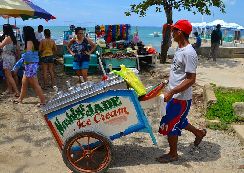 File:Sabang Beach Ice Cream.jpg