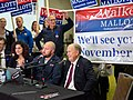 Sabrina Combs, Jeff Landfield, and Governor Bill Walker (31243327217).jpg