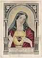 Sacred heart of Mary- sacre coeur de Marie - sacrado corazon de Maria LCCN2001704235.jpg