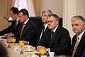 Saeimu oficiālā vizītē apmeklē Ungārijas parlamenta priekšsēdētājs (8121849497).jpg