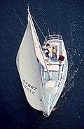 Sailboat In Long Beach Harbor, California-01.jpg