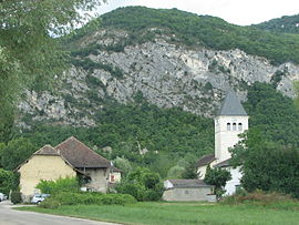 The village of Saint-Benoît