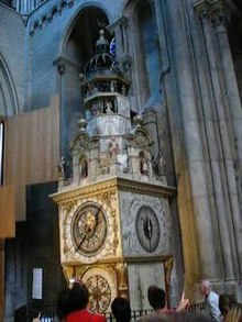File:Saint Jean Astronomical Clock.ogv