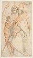 Saint John the Baptist and Saint Bernardo degli Uberti (after Andrea del Sarto's Vallombrosa Altarpiece) MET DP812299.jpg