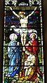Saint Julie Billiart Catholic Church (Hamilton, Ohio) - stained glass, Crucifixion, detail.jpg