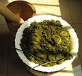 Saka-saka - pounded and cooked cassava leaves.jpg