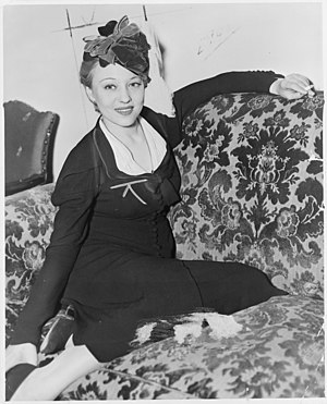 Sally Rand - Image: Sally Rand NYWTS