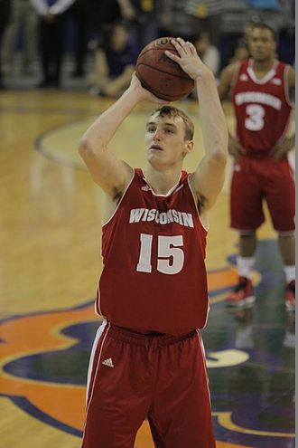 Sam Dekker - Dekker with Wisconsin in 2012