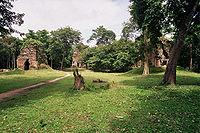 Temple complex of Sambor Prei Kuk, archaeological site of ancient Ishanapura