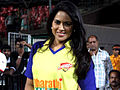 Sameera Reddy at CCL match.jpg