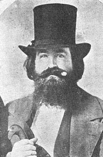 Mayor of Dallas - Samuel B. Pryor, the first mayor of Dallas.
