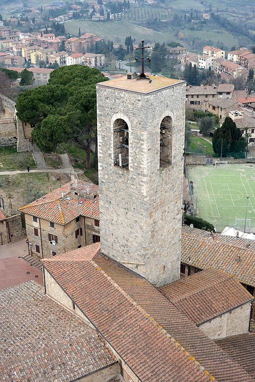 San Gimignano - Campanile della Collegiata