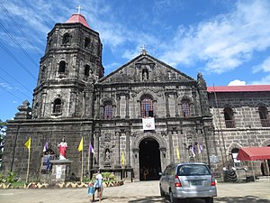 Tanay Church - Facade of Tanay Church