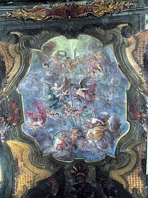 Giovanni Carlo Aliberti - Fresco in S. Martino, Asti