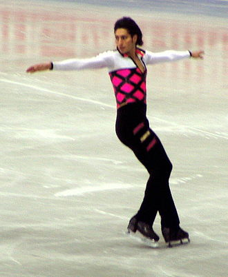 Emanuel Sandhu - Emanuel Sandhu competing at the 2004 Worlds.