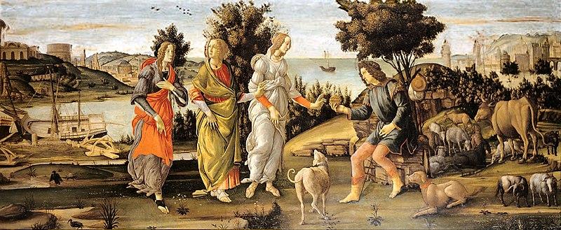 File:Sandro Botticelli - Il Giudizio di Paride.jpg