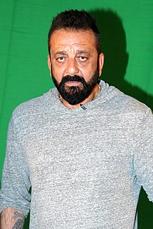 Sanjay Dutt snapped promoting his film 'Bhoomi'.jpg