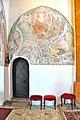 Sankt Georgen a L Launsdorf Pfarrkirche Mariae Himmelfahrt Chorturm-N-Wand Christus in Mandorla 12032013 134.jpg