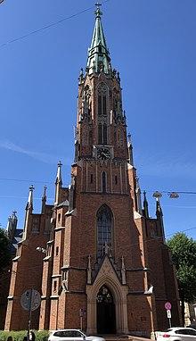 St Gertrud Kirche