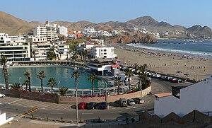 Santa María del Mar District (Peru) - Panoramic view of Santa María del Mar