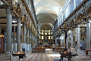 Carmini - Interior view.