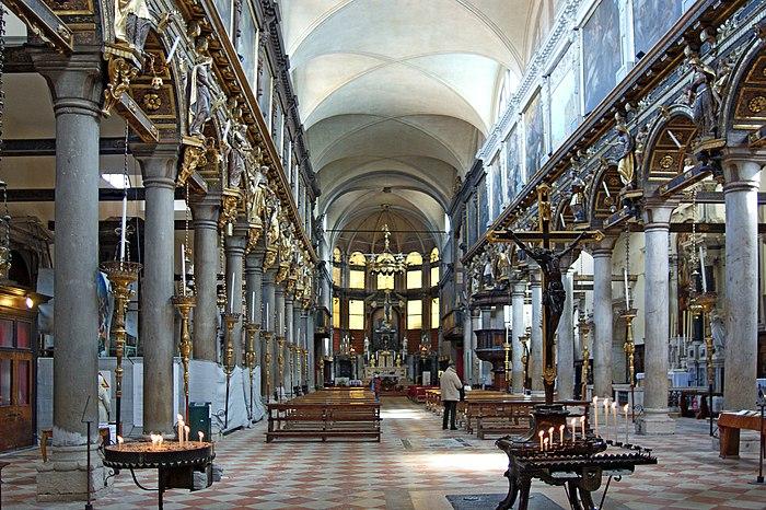 Santa Maria dei Carmini Intérieur