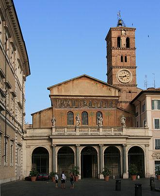 Santa Maria in Trastevere - Image: Santa Maria in Trastevere front