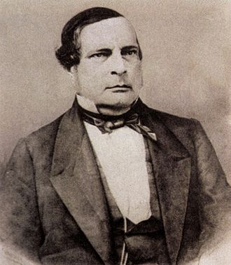 1860 Argentine presidential election - Image: Santiago Derqui 1860