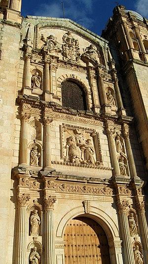Church of Santo Domingo de Guzmán - Image: Santo Domingo Fachada