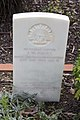 Sapper J W Faull gravestone in the Wagga Wagga War Cemetery.jpg