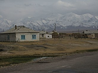Sary-Tash - Houses in Sary Tash