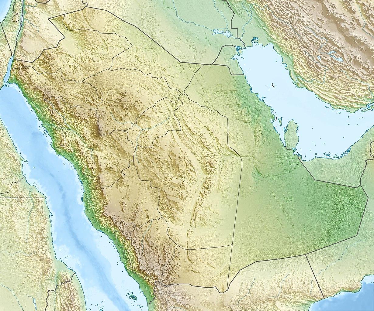 Datei:Saudi Arabia relief location map.jpg – Wikipedia