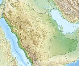 Midian Mountains is located in Saudi Arabia