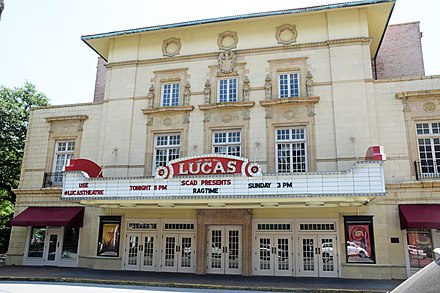 Lucas Theatre for the Arts Savannah GA USA Lucas Theater.JPG