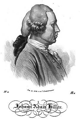 Johann Adam Hiller