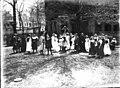 Scene in Oxford College production of 'The Piper' 1911 (3190726981).jpg