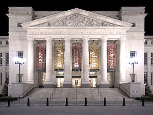 New Classical architecture - Schermerhorn Symphony Center in Nashville - opened in 2006