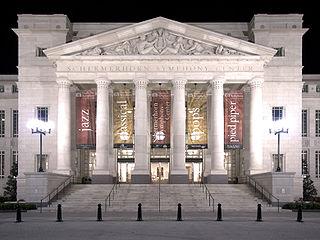 Schermerhorn Symphony Center concert hall in Nashville, Tennessee