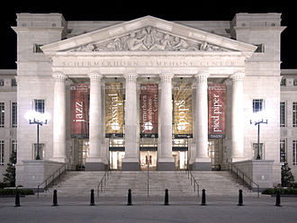 New Classical architecture - Schermerhorn Symphony Center in Nashville – opened in 2006