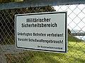 Schild Militärischer Sicherheitsbereich Flensburg-Mürwik(223336668).jpg