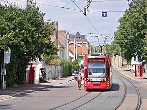 Schkopau - Streetcar in Schkopau