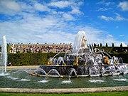 Schloss Versailles Springbrunnen 1